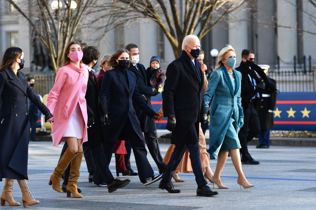 Joe Biden's Inauguration As 46th President Of The U.S. Is Celebrated With Parade In Washington, D.C.