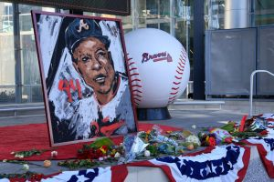 MLB: JAN 24 Hank Aaron Tributes
