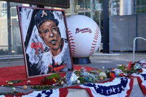MLB: JAN 24 Hank Aaron Tributes