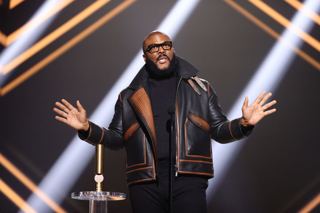 Tyler Perry Gets COVID-19 Vaccine To Help Boost Confidence In it