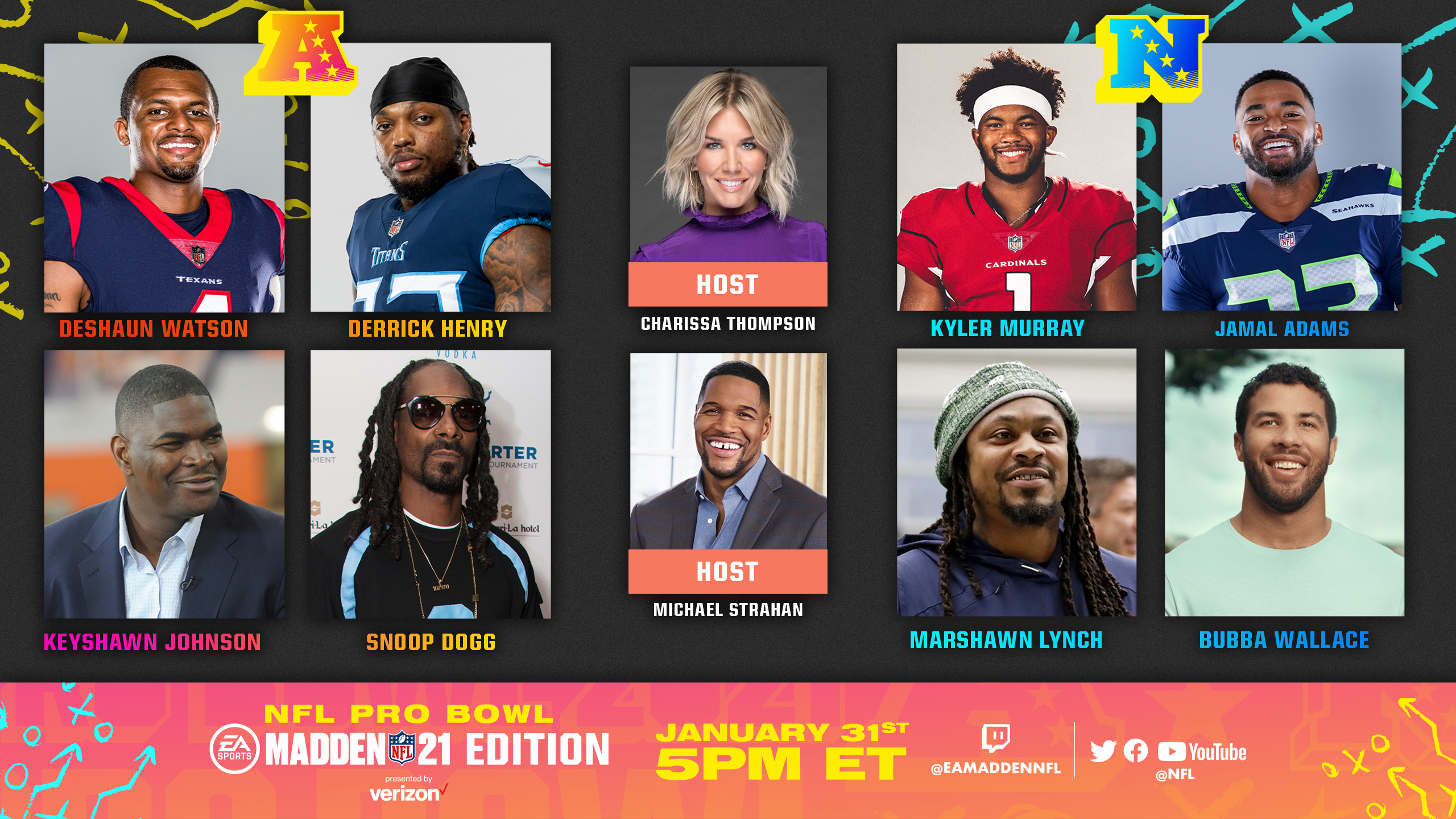 Snoop Dogg & More Headline Pro Bowl 2021: The 'Madden NFL 21' Edition