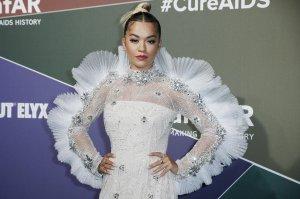 Rita Ora looks stunning during the 2019 amfAR Gala in Milan, Italy