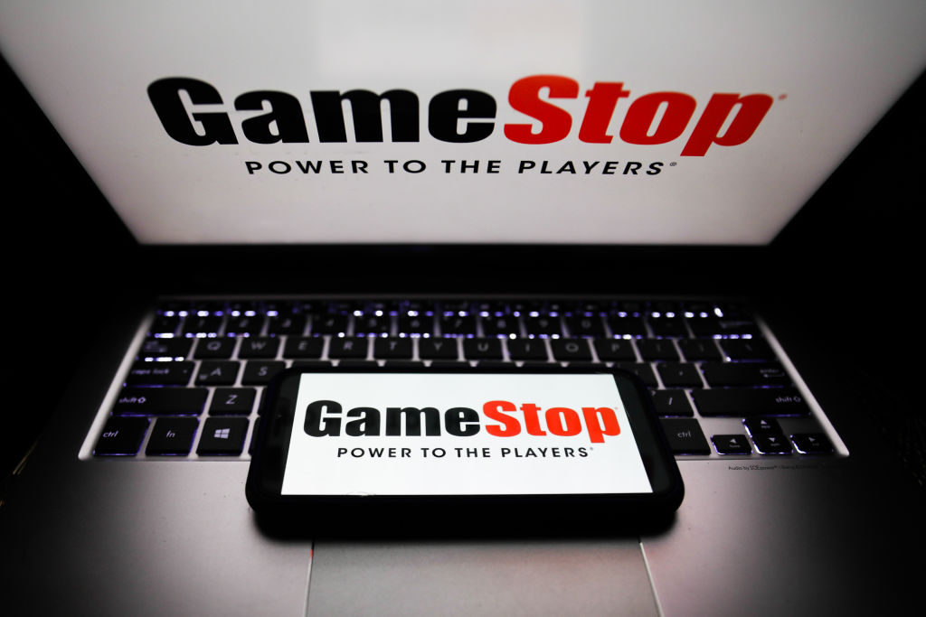 GameStop Photo Illustrations