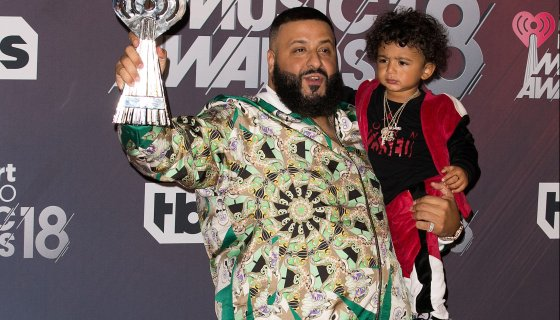 DJ Khaled Pulls His Son Out of Class To Stunt In His Jordans