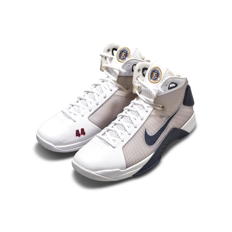 President Barack Obama Nike Hyperdunk PE