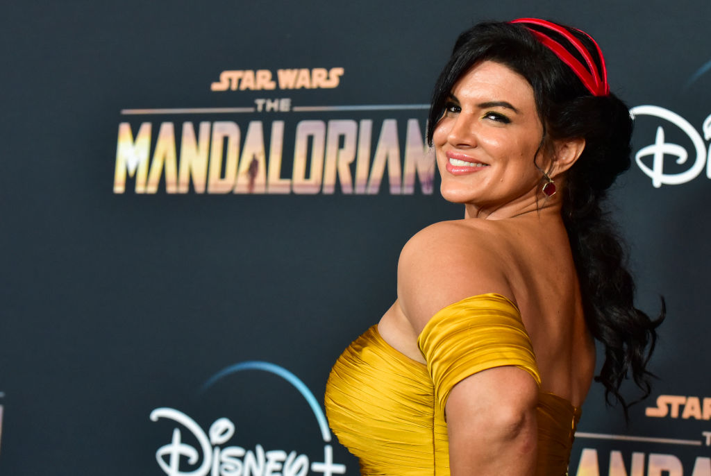 Lucasfim Fires Gina Carano From 'The Mandalorian, Twitter Says Finally
