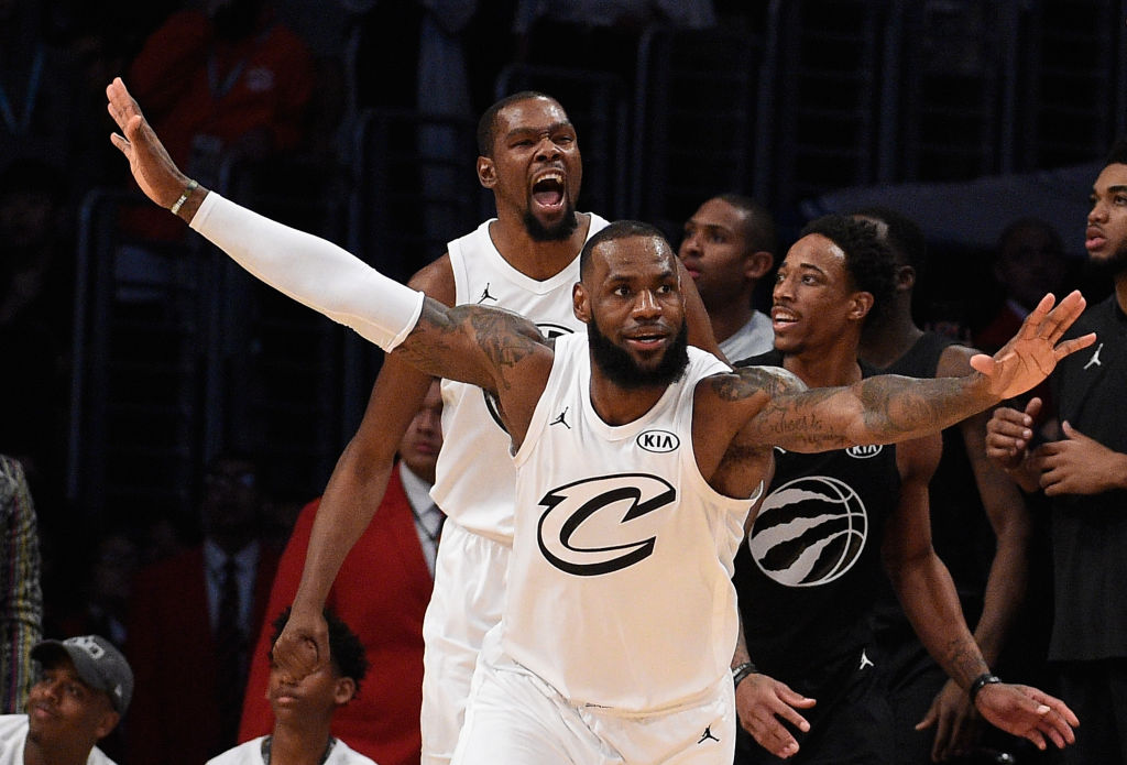 LeBron James & Kevin Durant Named NBA-All-Star Game Captains