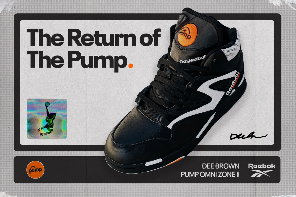 Dee Brown's Famed Reebok Pump Omni Zone II To Return