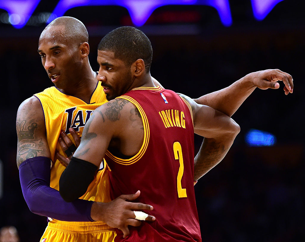 Kyrie Irving Double-Downs On Push For Kobe Bryant To Become NBA Logo