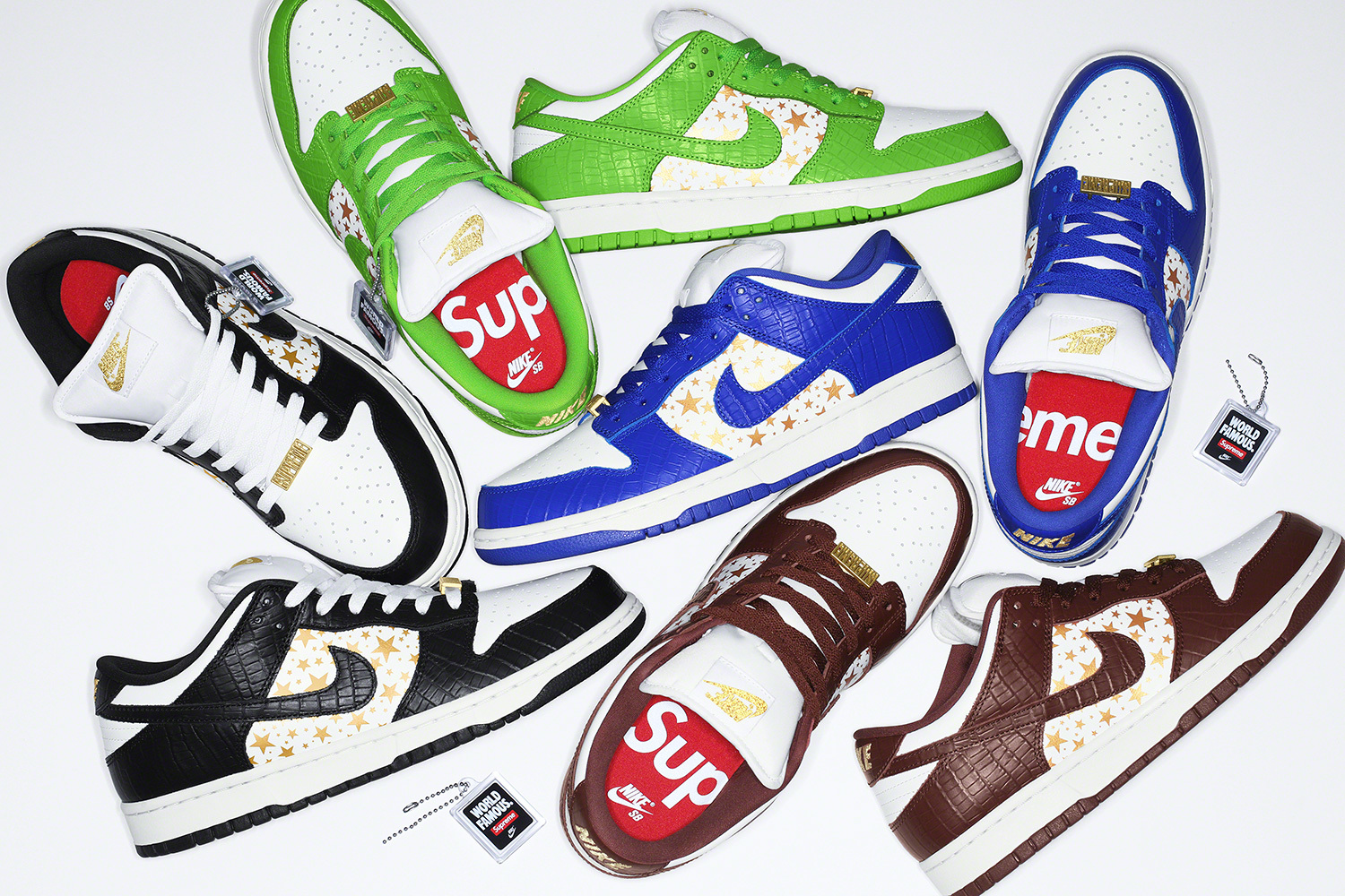 L's On Deck: The Supreme/Nike SB Dunks Drop This Week