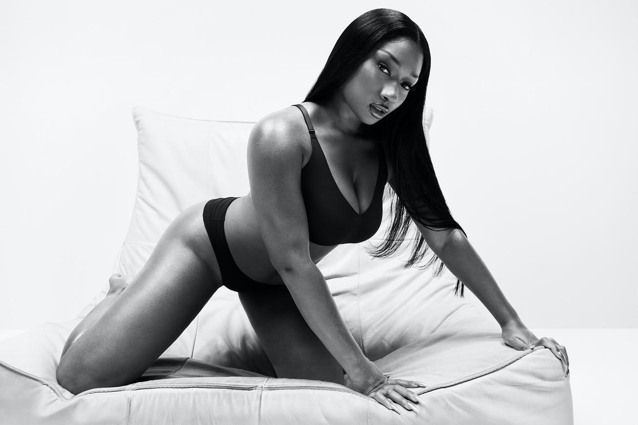 Megan Thee Stallion & Her Body-Ody Star In Calvin Klein's Spring Campaign