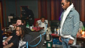 Rapper Future In Studio