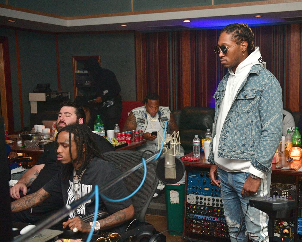Rapper Future In Studio