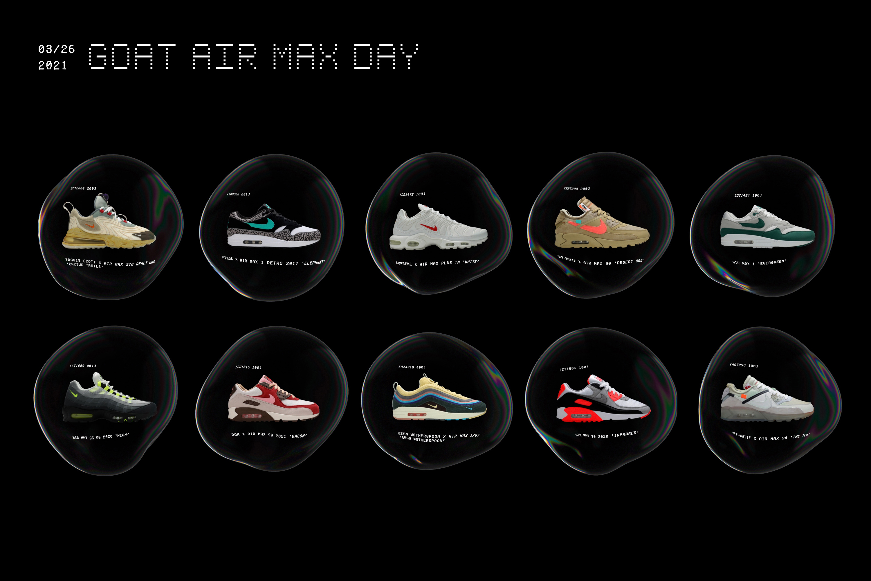 GOAT X Air Max Day 2021
