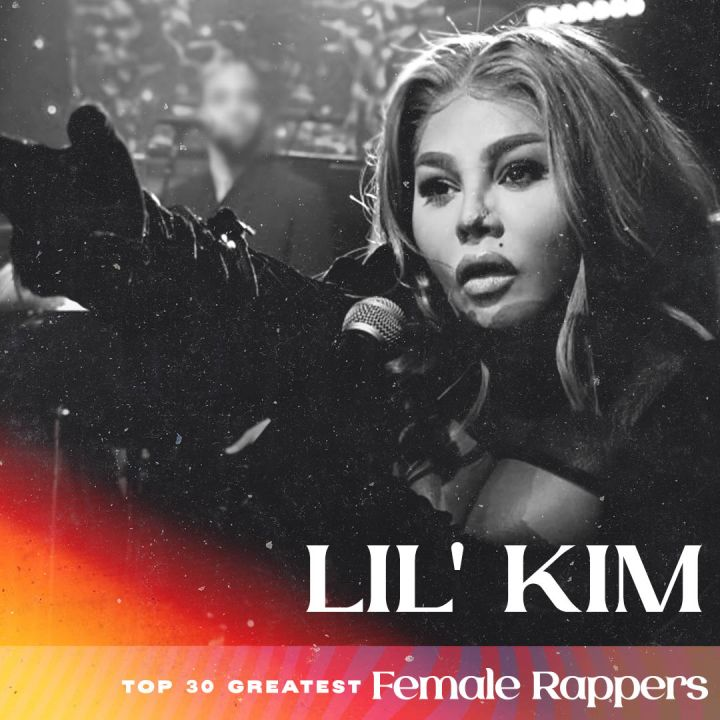 Lil' Kim - Greatest Female Rappers
