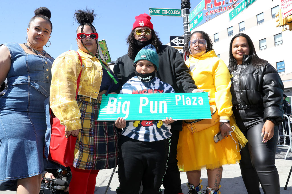 Big Pun Plaza Naming Ceremony