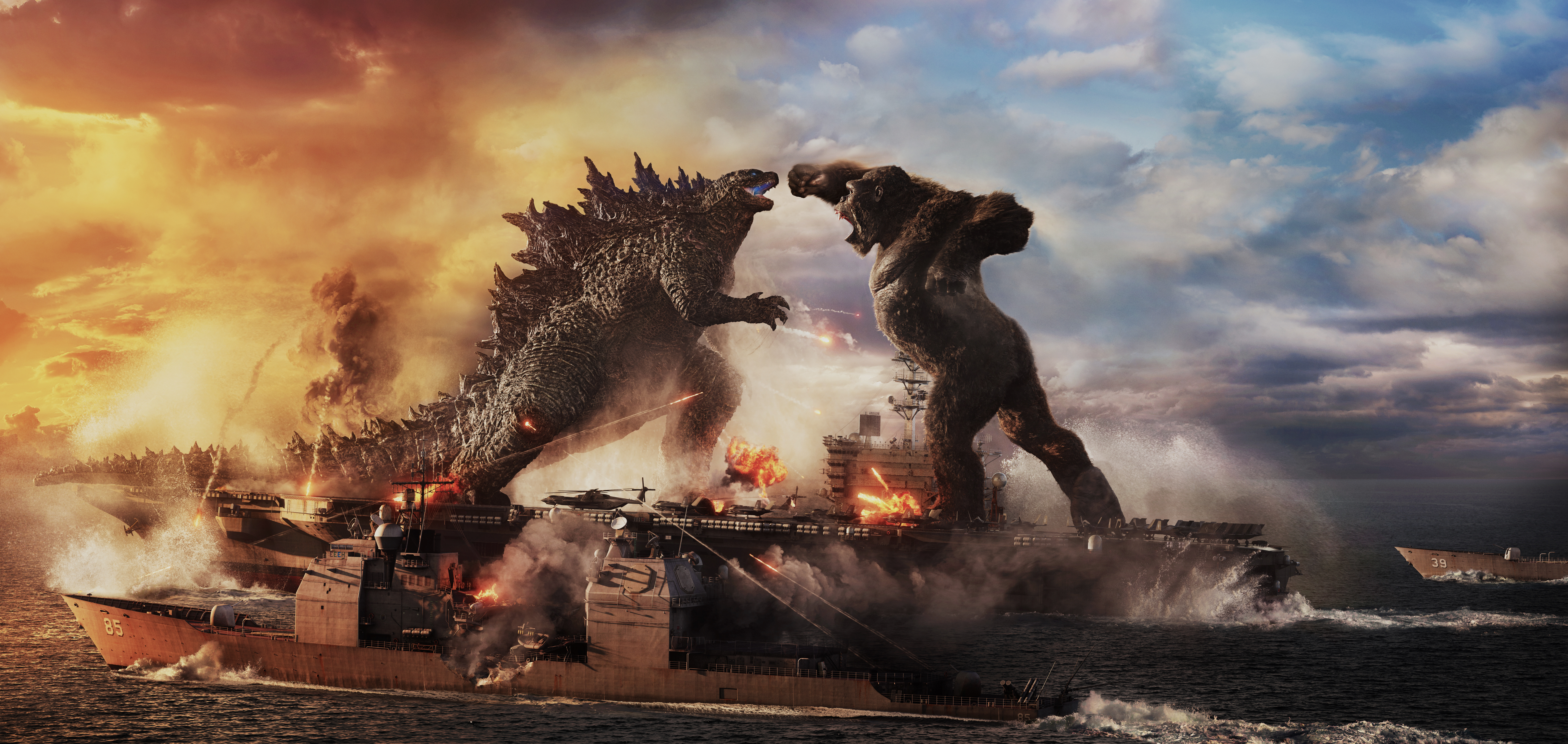 Twitter Reacts To The Epic Showdown Between Godzilla & King Kong