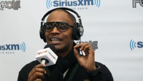 NFL: FEB 04 Super Bowl XLV - Celebreties on Radio Row