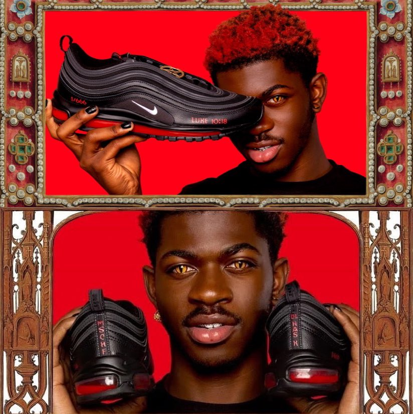Lil Nas X Satan Shoes