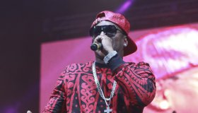Dipset, Cam'ron, Jim Jones and Juelz Santana perform during the Source360 festival
