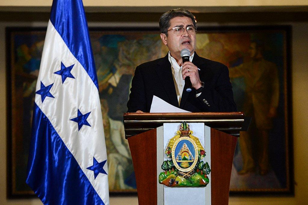 HONDURAS-POLITICS-DRUGS-HERNANDEZ