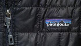 Woman wears a Patagonia jacket