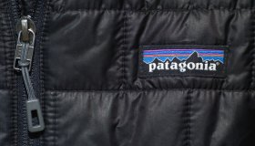 Woman wears a Patagonia jacket