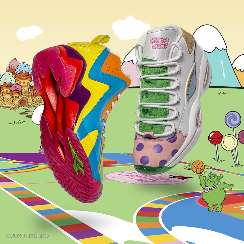 Reebok & Hasbro Candy Land