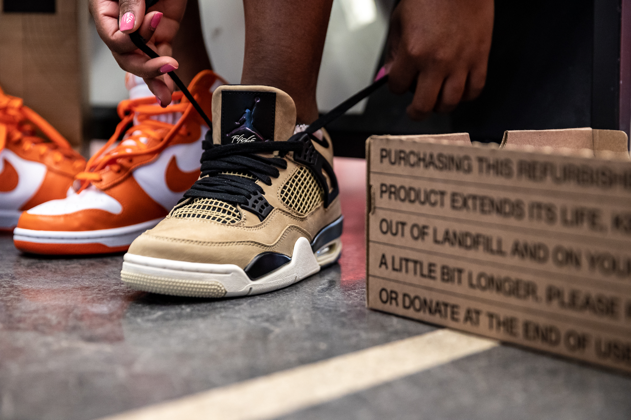 Nike Starts A Refurbished Program For Used Kicks