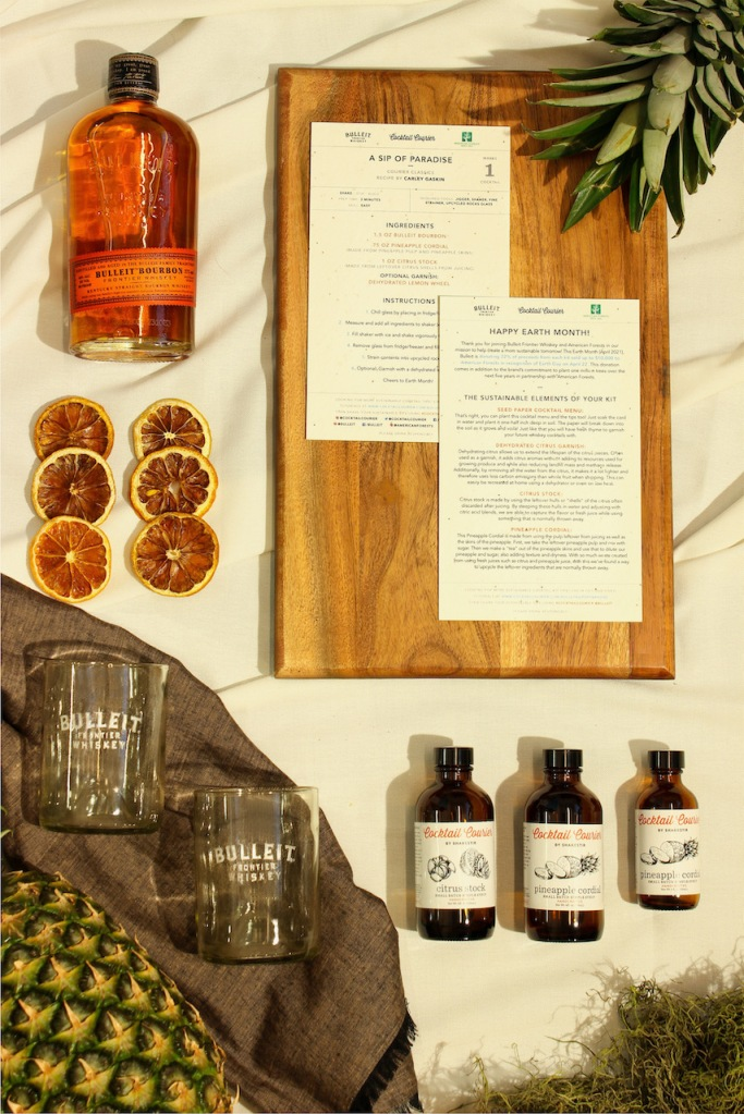 Bulleit Frontier Whiskey Earth Day Cocktail Kit