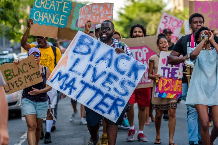 On the second anniversary of the death of Eric Garner by...