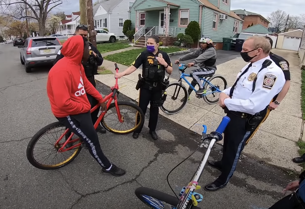 Biking While Black: New Jersey Cops Harass Black Biker For Not Having A License