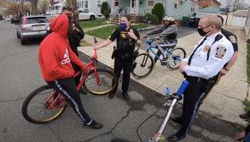 Perth Amboy New Jersey Black Biker