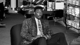 Big Daddy Kane Promotional Visit In Chicago