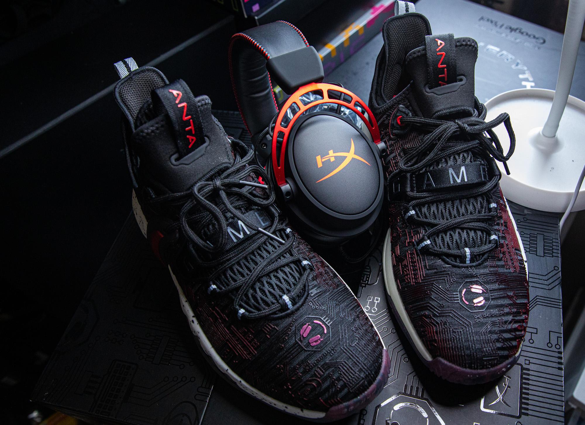 ANTA x HyperX Team Up For Gordon Hayward Limited-Edition Sneaker