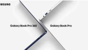 Samsung Galaxy Book Pro 360 & Galaxy Book Pro