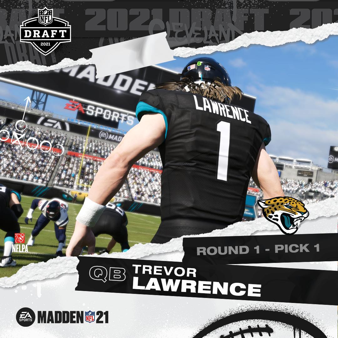 Trevor Lawrence, Trey Lance & Zack Wilson Now Playable In 'Madden NFL 21'