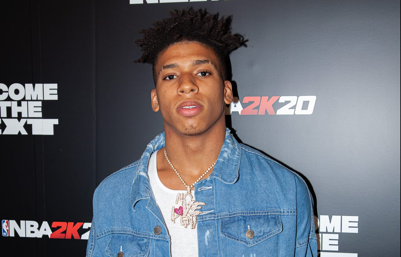 Twitter Reacts To NLE Choppa Almost Getting Knocked Out During Brawl