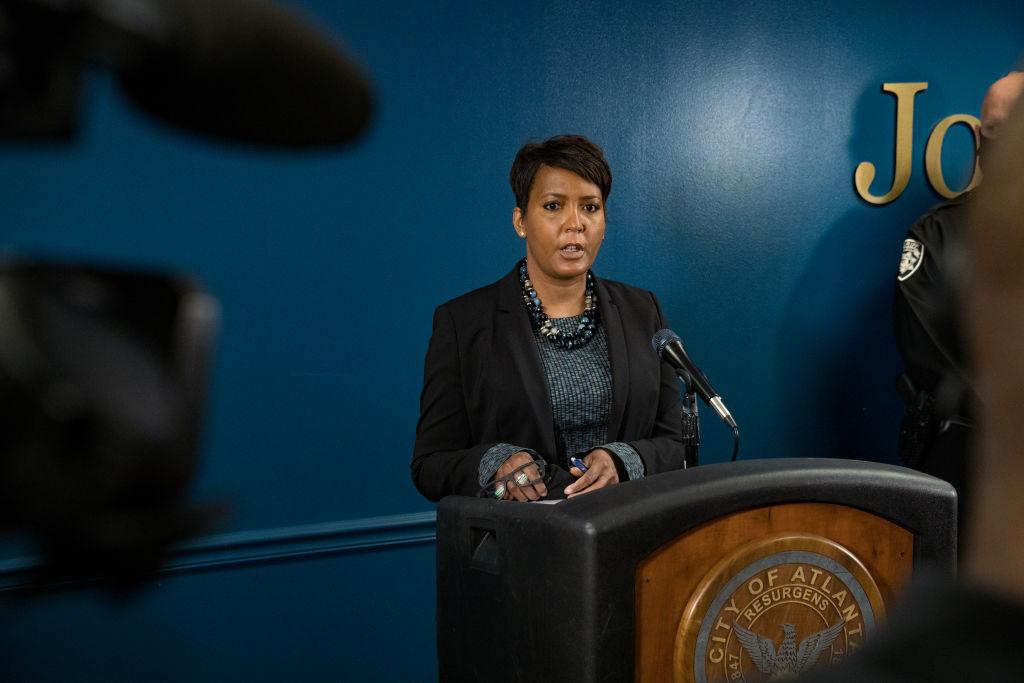 Atlanta Mayor Keisha Lance Bottoms Won't Run for Re-Election