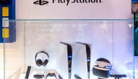 Japanese video gaming system brand created and owned by Sony...