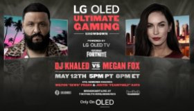 DJ Khaled & Megan Fox to Face-off in Epic Live Gaming Battle to Kick Off LG's Only on OLED Campaign