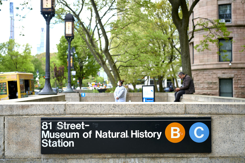 Healthcare Workers Administer Covid-19 Vaccines At American Museum of Natural History