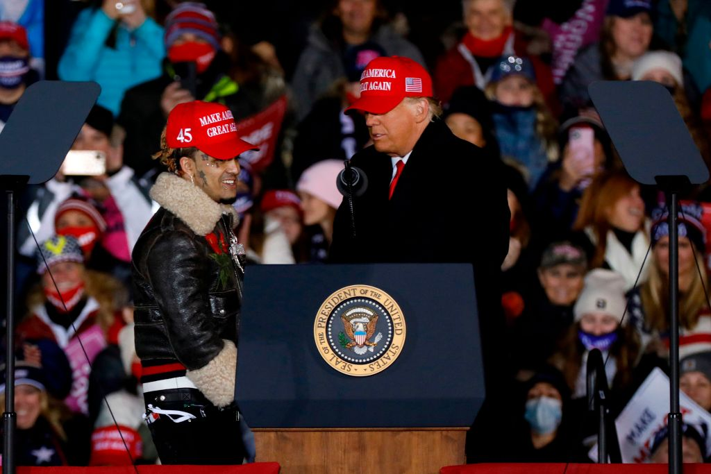 Four Suspects Were Caught Breaking Into Trump Supporter Lil Pump's Rolls-Royce [Video]