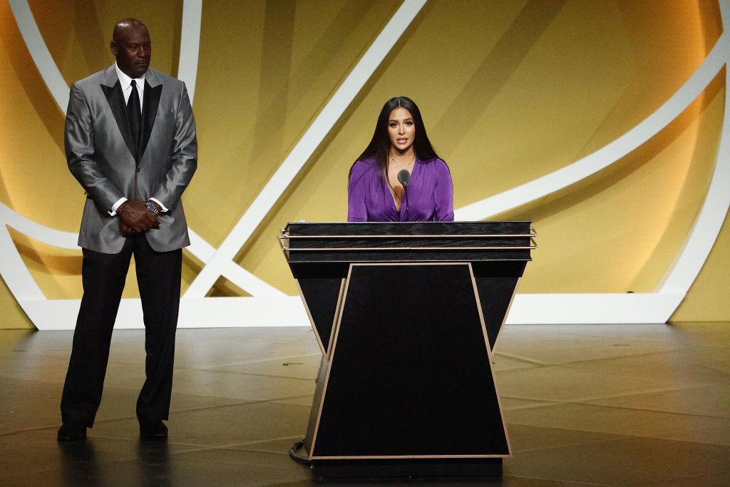 Vanessa Bryant's NBA Hall of Fame Speech For Kobe Bryant [Video]