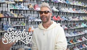 Adam Levine Sneaker Shopping