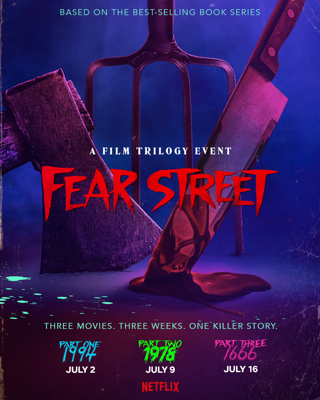 Netflix Debuts Trailer For Upcoming Horror Trilogy 'Fear Street'
