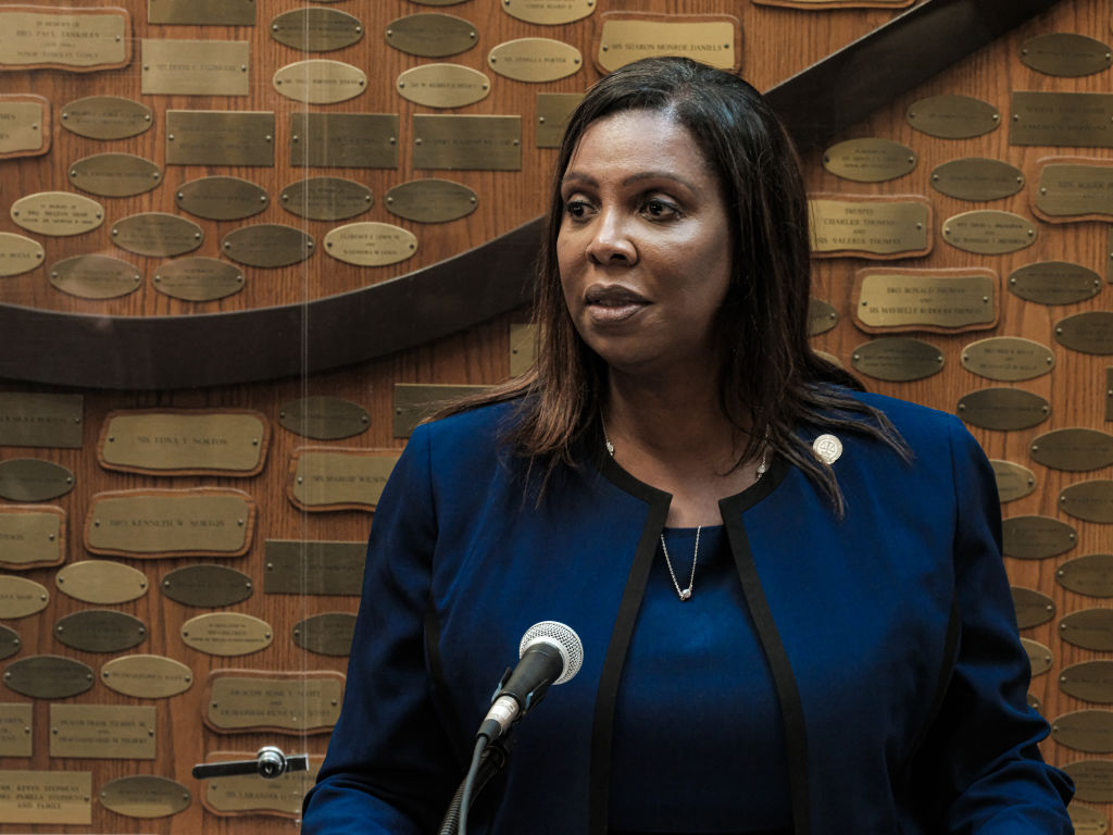 NY Attorney General Letitia James Joins Trump Organization Criminal Probe