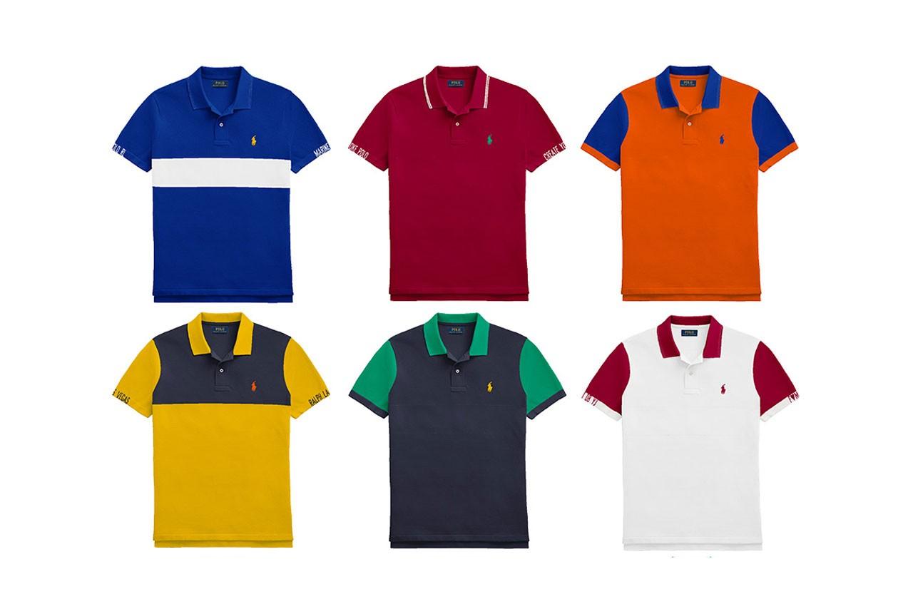 'Lo Down: Ralph Lauren Launches Custom Polo Shirt Program