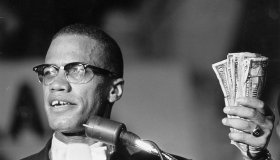 Malcolm X with Money