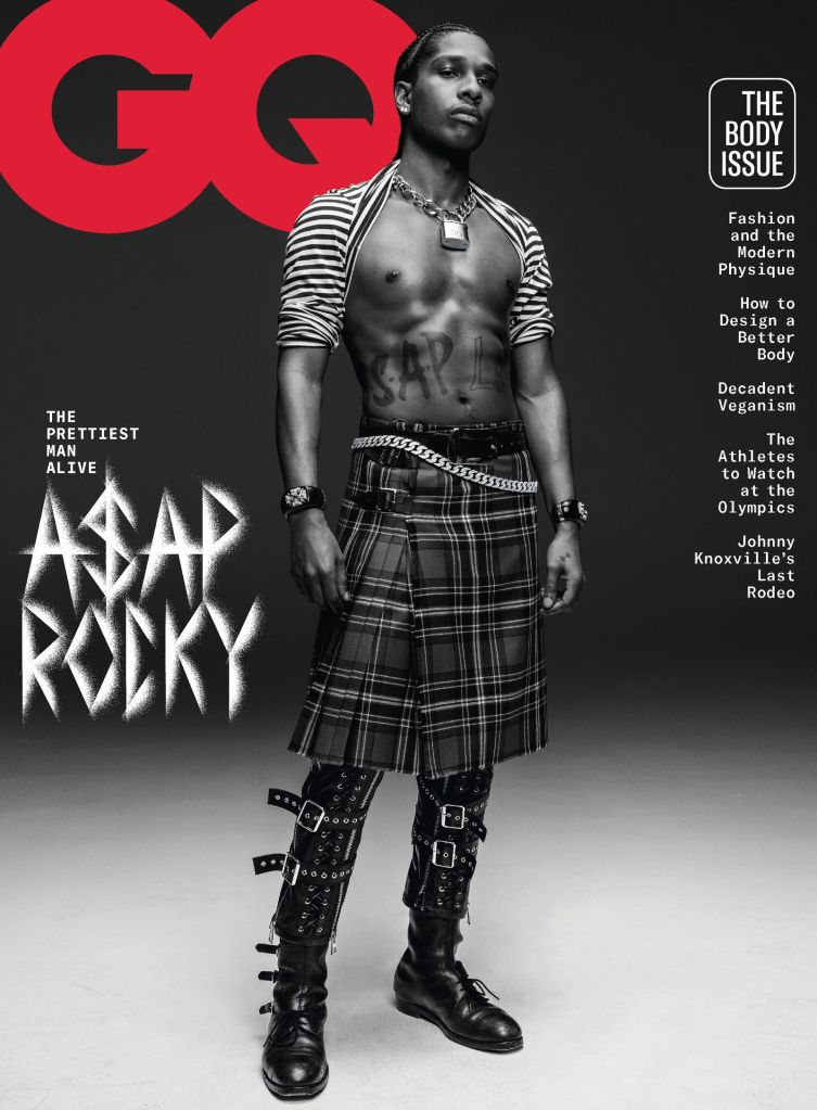 A$AP Rocky for GQ